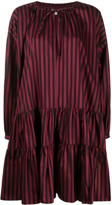 Marques Almeida Striped Print Dress