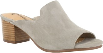 Bella Vita Leather Mule Sandals - Daisy