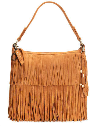 Frye and Co. Phoebe Fringed Suede Hobo