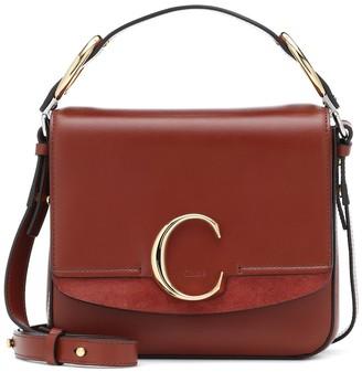 Chloé C Small leather shoulder bag