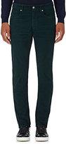 Incotex Men's Ray 5-Pocket Corduroy Pants-GREEN