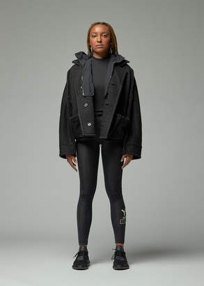 Y-3 Y 3 Knit-Nylon Hooded Jacket