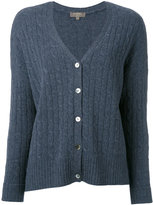N.Peal oversize box cable cardigan - women - Cashmere - S