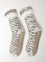 White Stuff Jodi spacey slipper sock