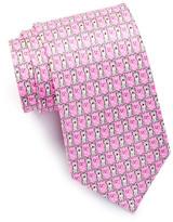 Tailorbyrd Huskies Silk Tie