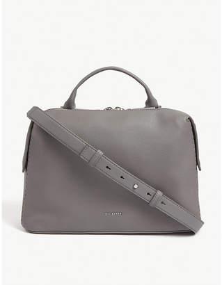 Ted Baker Zip leather shoulder bag