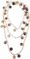 Maria Calderara mother of pearl necklace