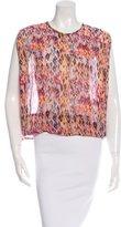 IRO Oroyo Printed Sleeveless Blouse