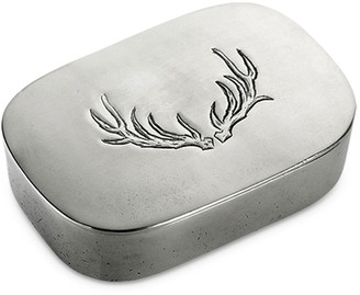 Match Simple Covered Antler Box