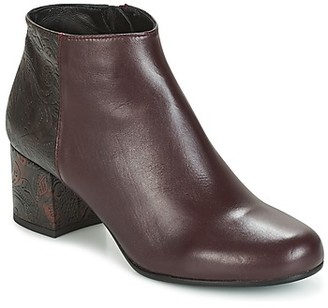 Paco Gil GENOVA women's Low Ankle Boots in Bordeaux
