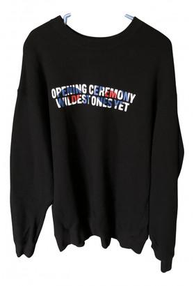 Opening Ceremony Black Cotton Knitwear & Sweatshirts