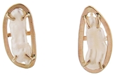 Melissa Joy Manning Kasumi Keshi Pearl Earrings