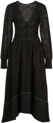 Proenza Schouler White Label broderie anglaise dress