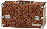 Japonesque Medium Train Case, Leopard