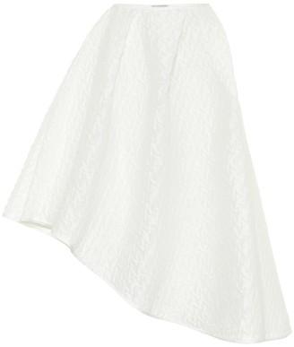 Cecilie Bahnsen Elliot linen plisse skirt