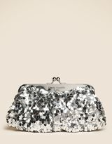 Sequined Clutch bag