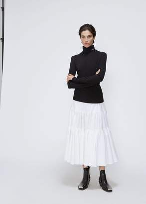 Calvin Klein Tiered Midi Skirt