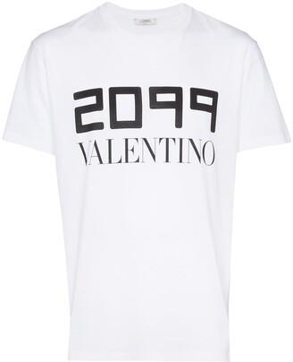 Valentino 2099 logo print T-shirt
