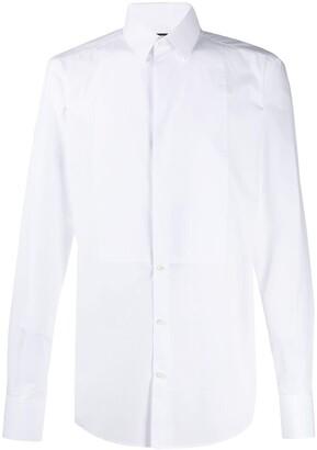 Dolce & Gabbana Slim Tuxedo Shirt