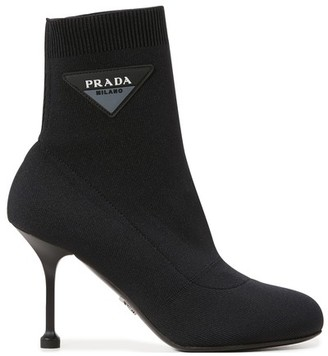 Prada Knit ankle boots