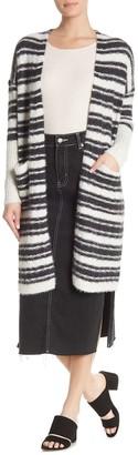 Hyfve Long Sleeve Striped Cardigan