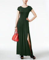 MICHAEL Michael Kors Metallic-Trim Maxi Dress