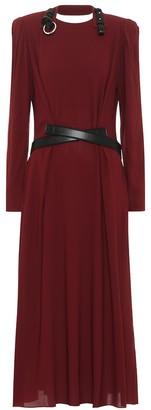 Stella McCartney Crepe midi dress