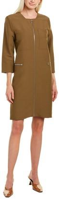 PARTOW Jaden Wool-Blend Shift Dress