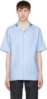 Gucci Blue Floral Bowling Shirt