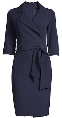Black Halo Lucinda Belted Dress