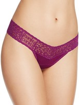 Hanky Panky Logo To Go Low-Rise Thong #631581
