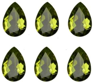 V3 Jewelry Natural 10x7mm Pear-cut 15.44ctw Peridot Gemstone