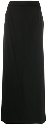 Maison Margiela Side Slit Maxi Skirt