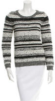 Sandro Patterned Wool Sweater