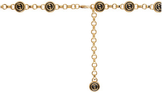 Gucci Gold GG Chain Belt