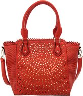 Melie Bianco Deva Large Crossbody Tote Handbag