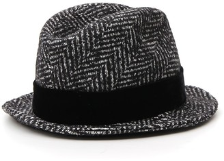 Dolce & Gabbana Striped Patterned Hat