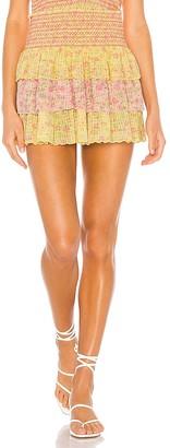 LoveShackFancy Daffodil Skirt
