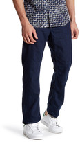 Robert Graham Blue Note Woven Denim Slim Jim Jean