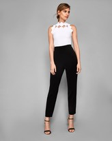 Ted Baker Bow Neckline Knitted Top
