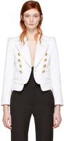 DSQUARED2 White Livery Sailor Bowie Jacket