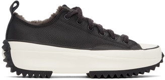 Converse Black Cozy Club Run Star Hike Sneakers