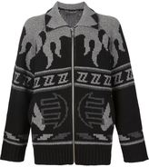 Christian Dada ZB Cowichan knit cardigan