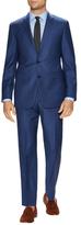 Vince Camuto Wool Birdseye Notch Lapel Suit