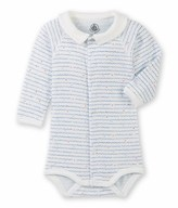 Petit Bateau Baby boys long-sleeved bodysuit
