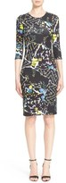 Erdem 'Allegra' Floral Print Jersey Dress