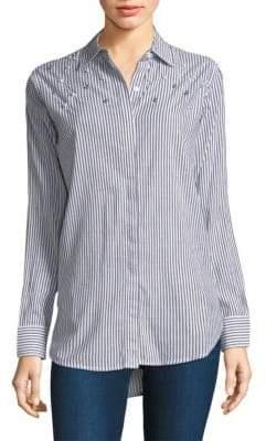 Rails Taylor Stripe Pearl Shirt
