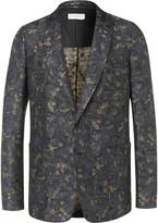 Dries Van Noten - Linen And Cotton-blend Jacquard Suit Jacket