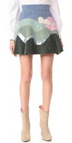 Marc Jacobs Flared Skirt