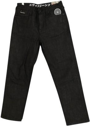 Evisu Black Denim - Jeans Jeans for Women